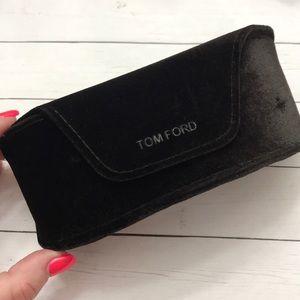 Tom Ford Velvet Sunglasses case